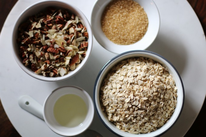 how to make crumble mix crunchy