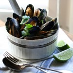 Mussels with Chilli, Ginger & Lemongrass