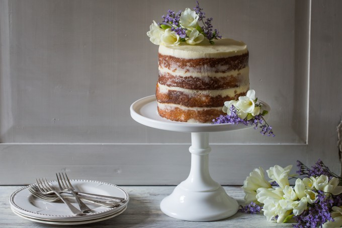 Elderflower, Lemon & Mascarpone Cake | Cygnet Kitchen