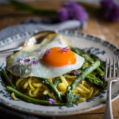 Asparagus Linguine | Cygnet Kitchen