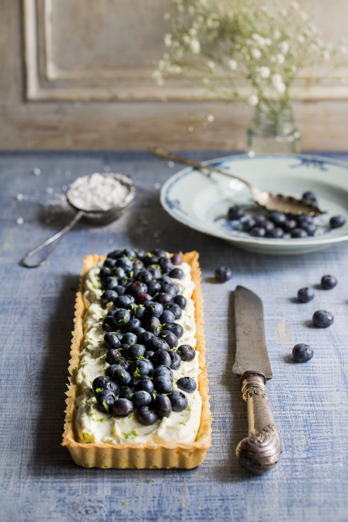 Blueberry & Lime Mascarpone Tart | Cygnet Kitchen