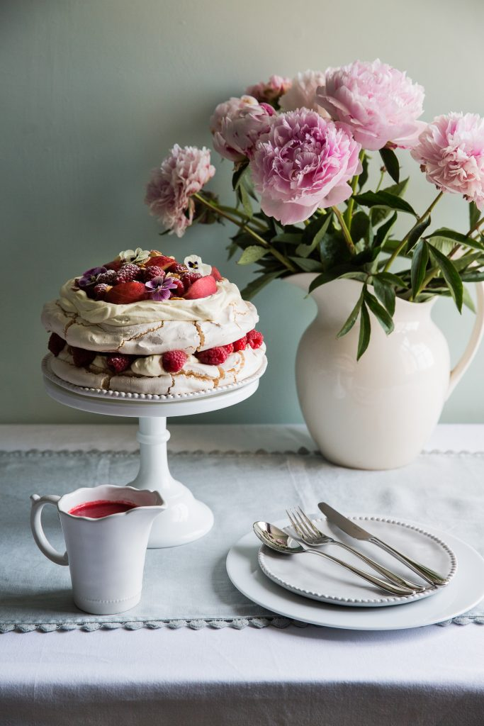 Peach Melba Meringue & Robert Welch New Cutlery Range