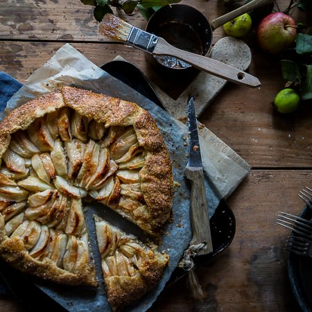 Apple & Hazelnut Galette | Cygnet Kitchen