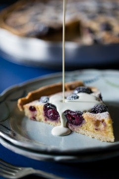 Cherry & Amaretto Tart