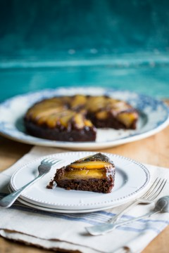 Pear & Ginger Cake